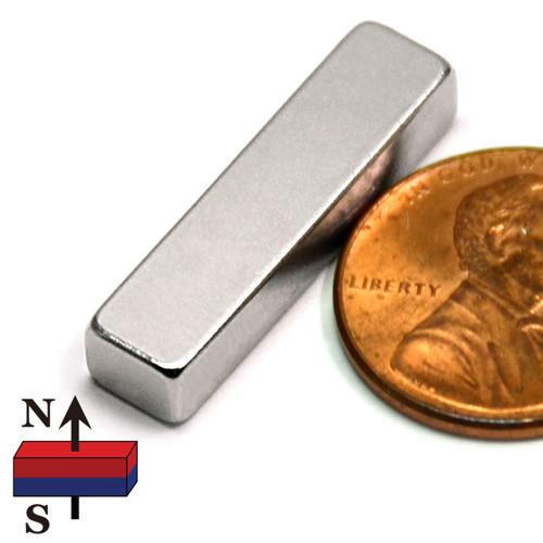 "1""x1/4""x3/16"" NdFeB Rare Earth Magnets"