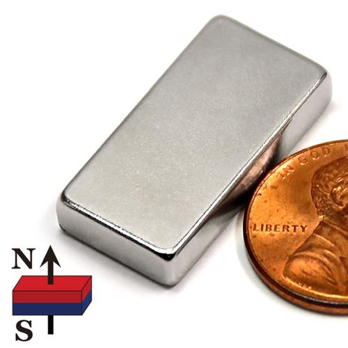 "1X1/2X3/16"" NdFeB Rare Earth Magnets"
