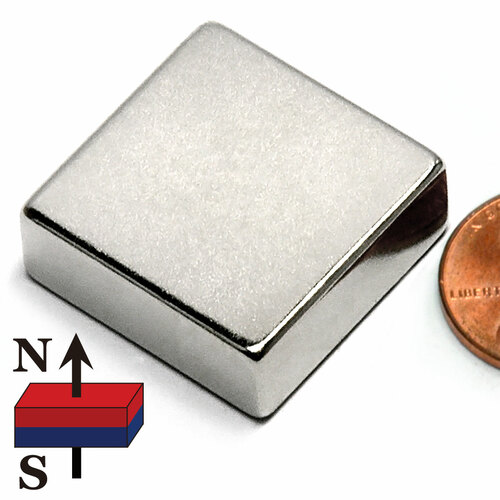 "1""X1""X3/8"" Neodymium Magnet"