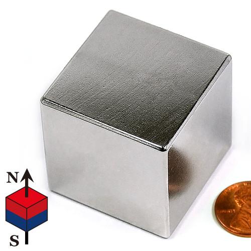 """1 1/2"""" Cube Neodymium Magnet"""