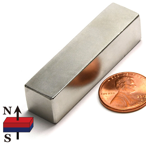 "2x1/2x1/2"" Rare Earth NdFeB Bar Magnet"