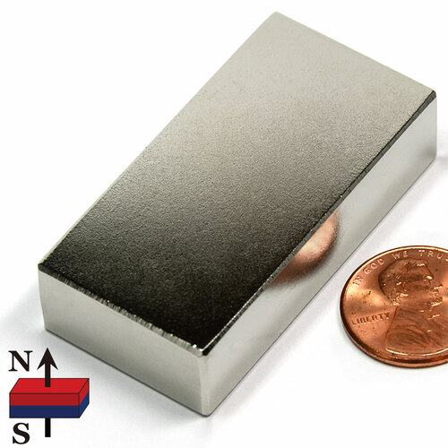 "2x1x1/2"" Neodymium Magnet"