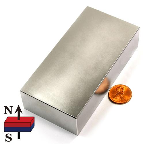"4""x2""x1"" Block Neodymium Magnet"