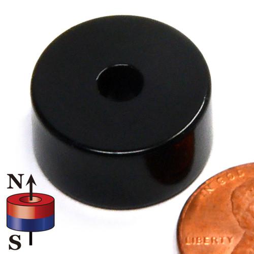Neodymium Ring Magnets Epoxy Coated