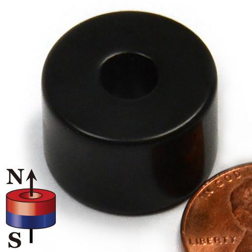 Neodymium Ring Magnet Epoxy Coated