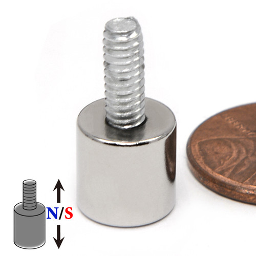 Neodymium Magnets with Stud