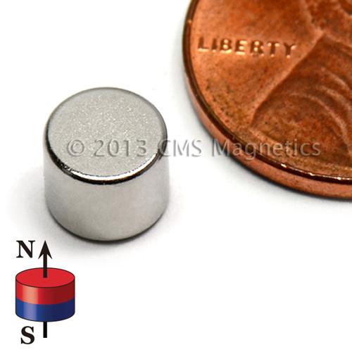 "Neodymium Magnets N42 Neodymium Disc Magnet 1/4""x2/10"" Rare Earth Disc"