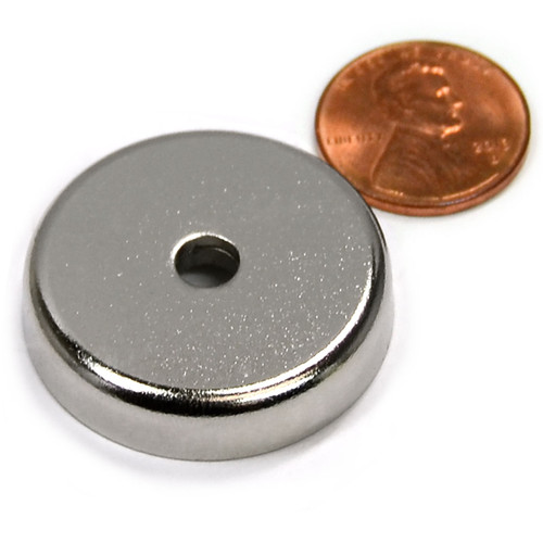 Magnetic Round Base large neodymium countersunk Cup Magnets