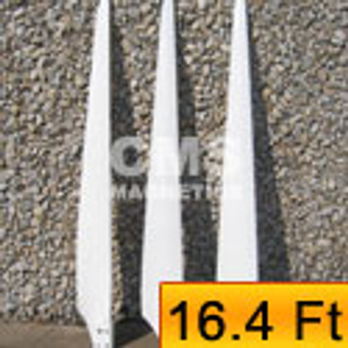 Wind Turbine Blades Liquidation - 5kW High Efficient & Reinforced 16.4' Rotor