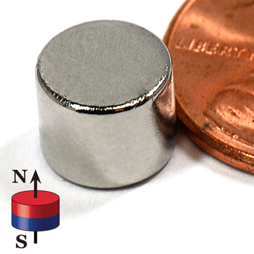 "5/16""X1/4"" NdFeB Rare Earth Magnets"
