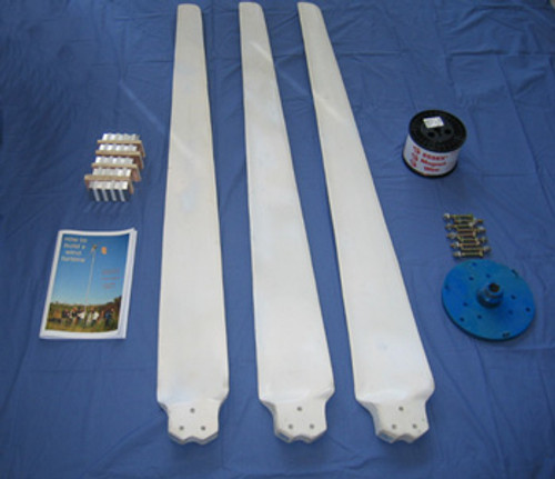 Wind Turbine 2 kW DIY Package