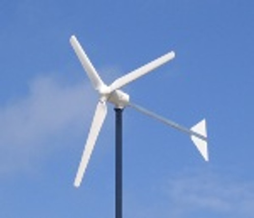 Low Wind Speed 1KW 24V Wind Generator System 1-Year Warranty