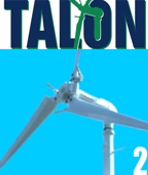 TALON2 2KW Wind Turbine System Grid-Tied w/ 30' Mono Tower