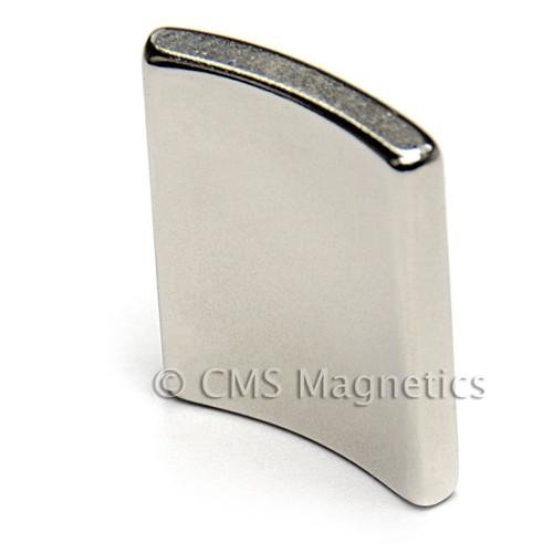 """NdFeB Arc Magnets Bar Magnet 1-1/2 x 1/2 x 1/16"""" N45 Neodymium Rare Earth Bar Magnet (NB02124-45NM)"""