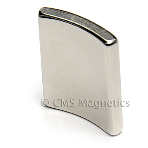 "NdFeB Arc Magnets Bar Magnet 1-1/2 x 1/2 x 1/16"" N45 Neodymium Rare Earth Bar Magnet (NB02124-45NM)"