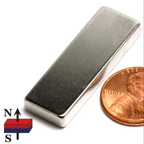"1.5x1/2x3/16"" NdFeB Rare Earth Magnet"