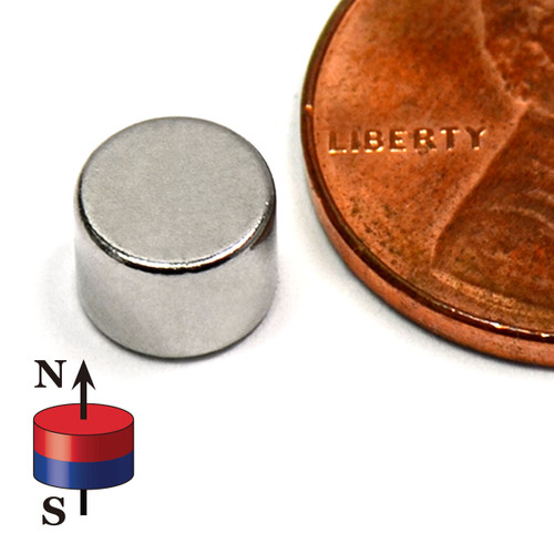 "Neodymium Magnet Disc Magnet N45 Neodymium Rare Earth Disc Magnets 1/4""x3/16"""