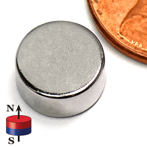 "3/8X3/16"" NdFeB Rare Earth Disc Magnets"