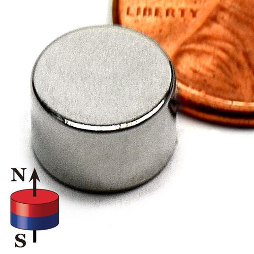 """Neodymium Magnets Dia 3/8""""X1/4"""""""