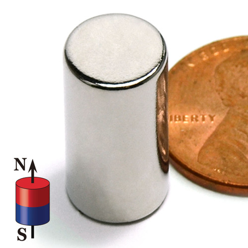 "3/8"" X 3/4"" NdFeB Rare Earth Magnets"