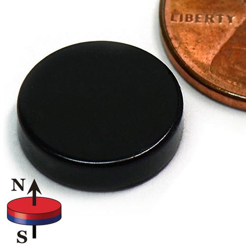 "1/2X1/8"" NdFeB Epoxy Coated Rare Earth Magnets"