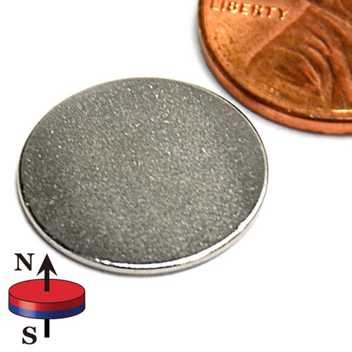"5/8X1/32"" NdFeB Rare Earth Disc Magnet"