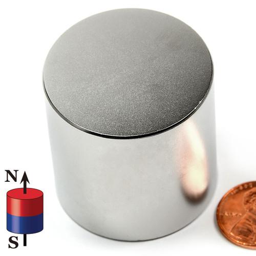"N42 1 1/2""X1 1/2"" Neodymium Magnet Disc"