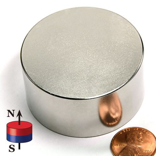 "2""X1"" N52 Neodymium Magnet"