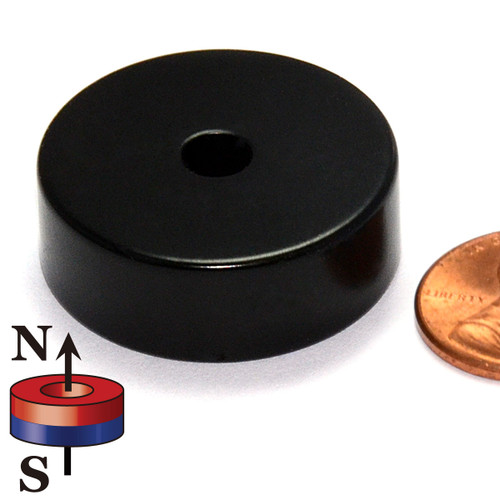 Neodymium Ring Magnet Epoxy Coated