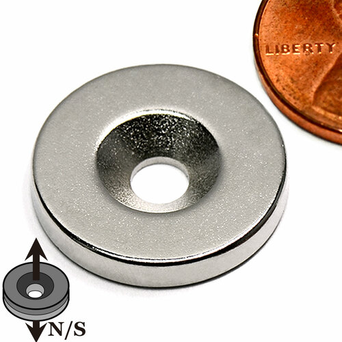 neodymium disc magnets with countersun Countersunk Magnets