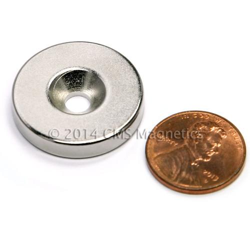 Countersunk Rare Earth Magnets