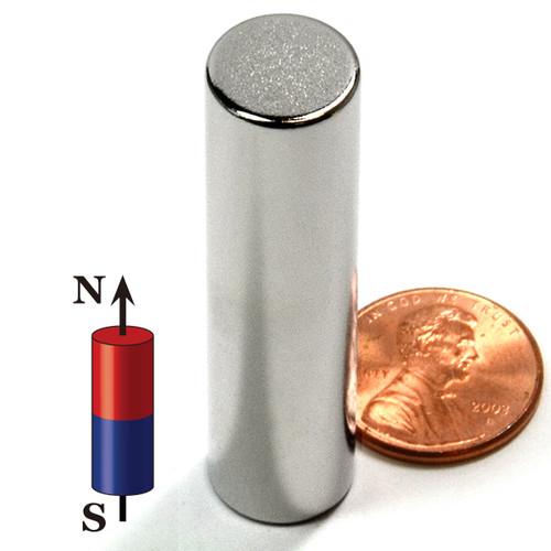 """N52 Cylindrica 1/2""""X2"""" NdFeB Rare Earth"""