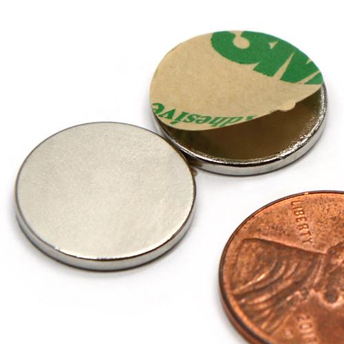 """5/8x1/16"""" With 3M Adhesive Neodymium Magnets"""