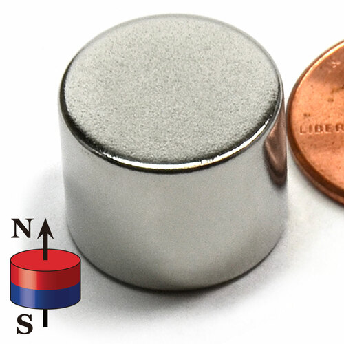 "5/8X1/2"" NdFeB Rare Earth Disc Magnet"