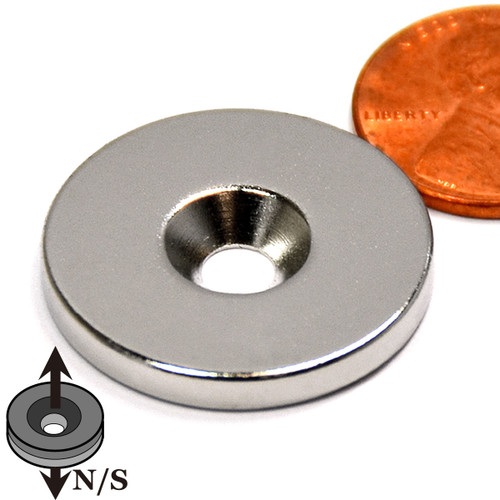 Countersunk Magnet
