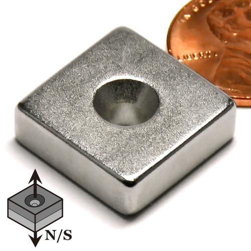 Countersunk Neodymium Magnet