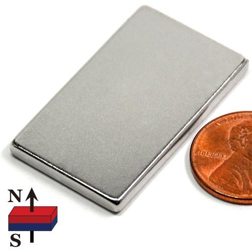 "1.5x7/8x1/8"" NdFeB Rare Earth Magnet"