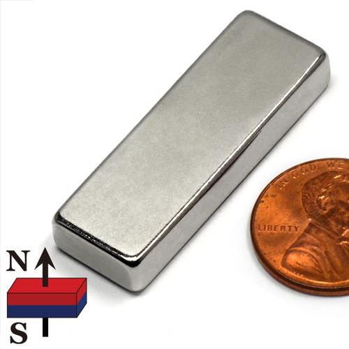 "1 1/2x1/2x1/4"" Rare Earth Permanent Magnet"