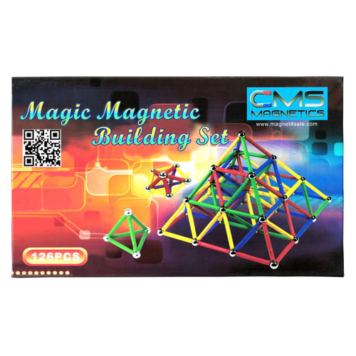 156 PC Magnetic Building Set Brain Toys for Children and Adults