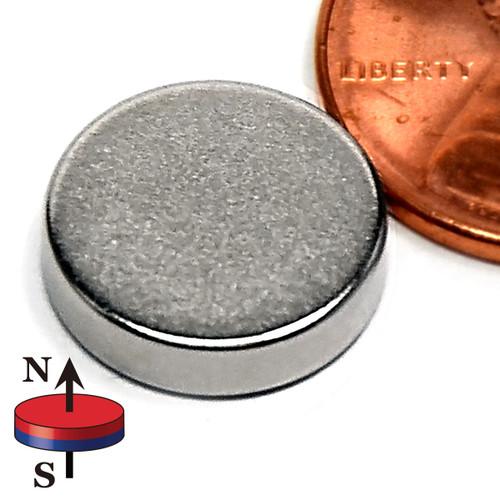 """1/2X1/8"""" Rare Earth Magnet N52 Neodymium Disc Magnet 1/2""""x1/8"""""""