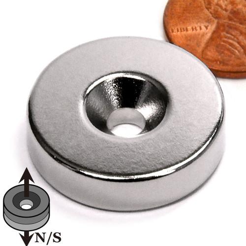 Countersunk Hole Neodymium Magnet