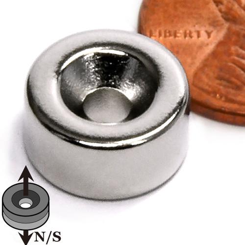 Countersunk Hole Disc Neodymium Magnet