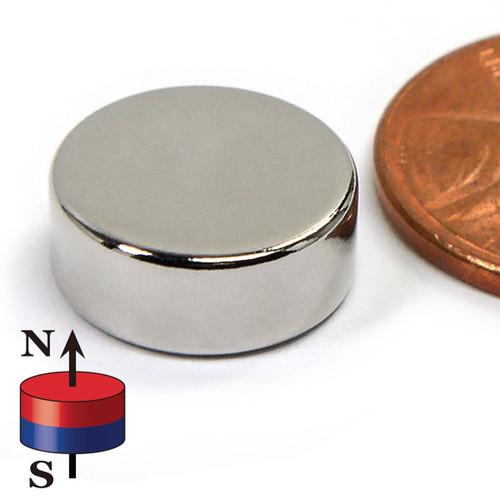 """N52 1/2""""x2/10"""" Neodymium Rare Earth Disc Magnet"""