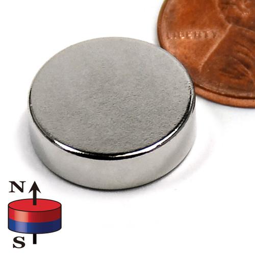 "5/8""X3/16"" NdFeB Rare Earth"