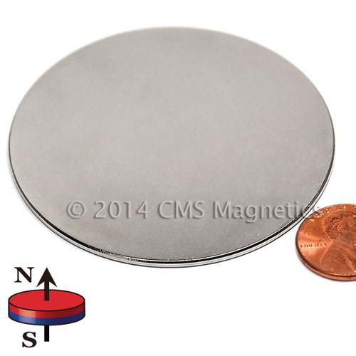 "Neodymium Magnets N45 Neodymium Disc Magnet 1/2""x1/16"""
