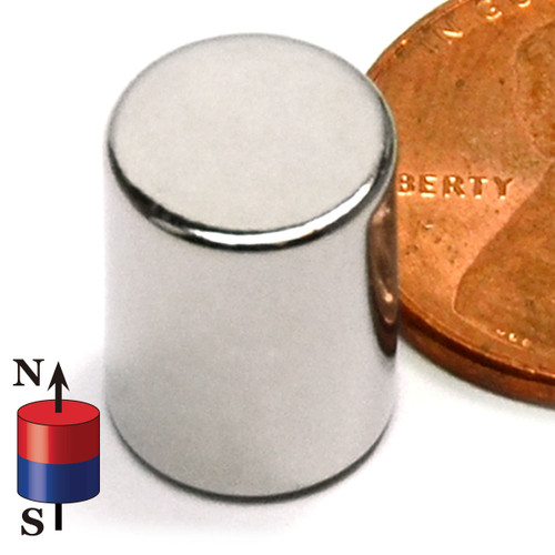 "3/8X1/2"" NdFeB Rare Earth Magnet"