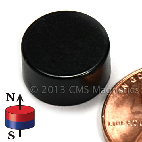 "N45 Neodymium Disc Magnets 1/2""x1/4"" Epoxy Coated Rare Earth Disc Magnet"