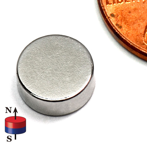"5/16X1/8"" NdFeB Rare Earth Disc Magnet"