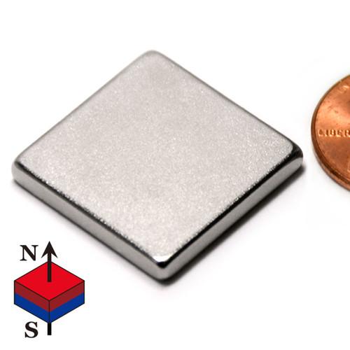 Neodymium Magnet Flat Square