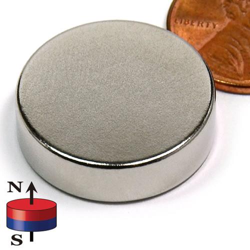 "7/8X1/4"" NdFeB Rare Earth Disc Magnet"